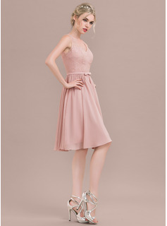 dusty rose wedding dress