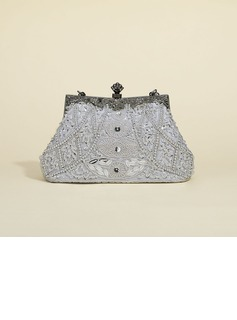 Fashionable Acrylic/Beading Clutches/Top Handle Bags
