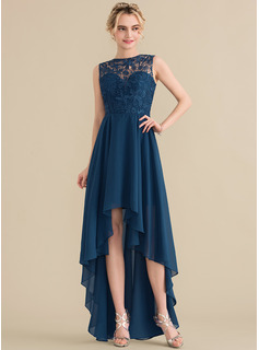 lace a line formal dress