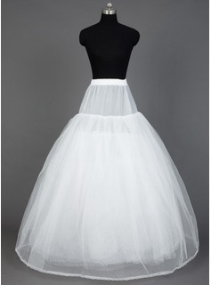 Women Nylon/Tulle Netting Floor-length 8 Tiers Petticoats