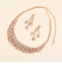 Ladies' Elegant Copper Necklaces For Bride
