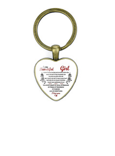 Groomsmen Presenter - Romantiskt Legering Keychain