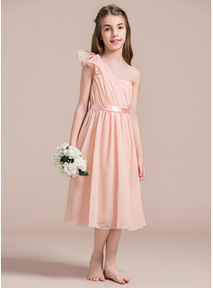 hunter green tea length dress