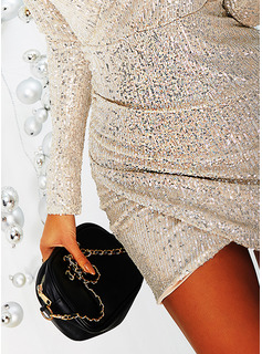 sheer ball gown prom dress