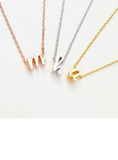Bridesmaid Gifts - Personalized Vintage Alloy Necklace