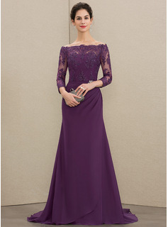 formal dress with lace jacket