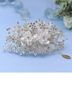 Ladies/Kids Beautiful Crystal/Rhinestone/Alloy Combs & Barrettes With Rhinestone/Imitation Crystal (Sold in single piece)
