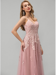 mauve floor length dress