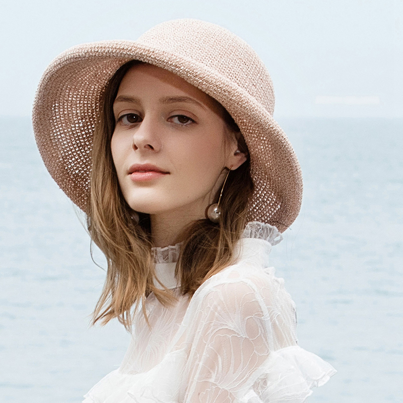 Ladies' Fashion/Simple/Fancy Papyrus Beach/Sun Hats
