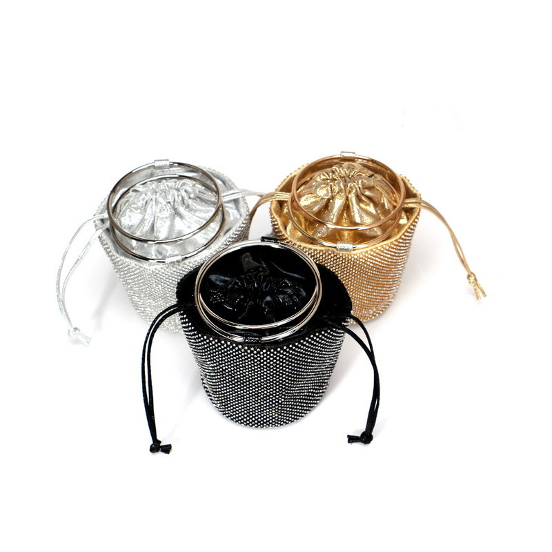 Charming Alloy Top Handle Bags