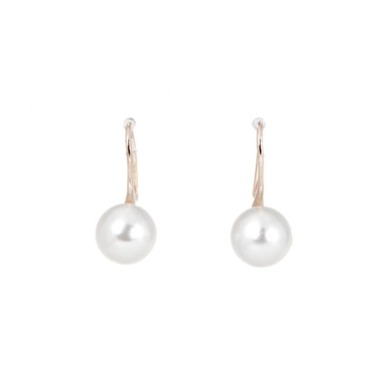 Charming Alloy/Pearl Ladies' Earrings