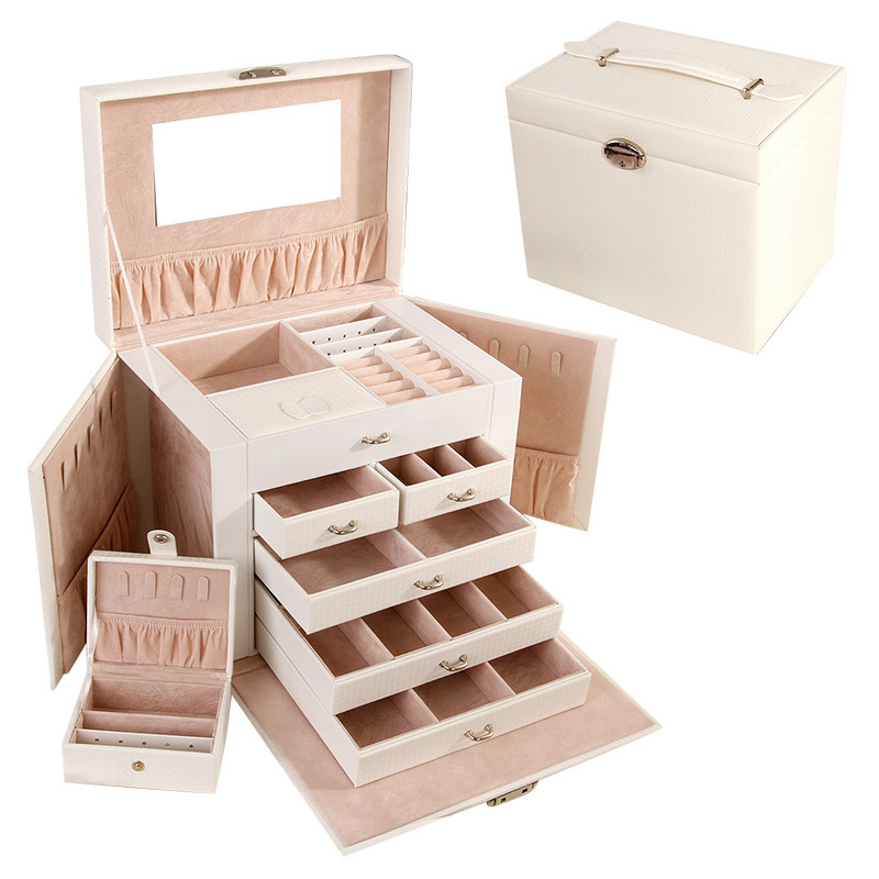 Bridesmaid Gifts - Wooden Jewelry Box