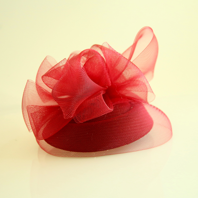 Ladies' Beautiful Net Yarn/Velvet Fascinators