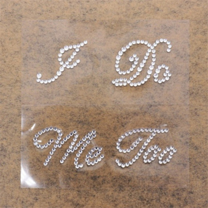 Bride Gifts - Classic Crystal Sticker