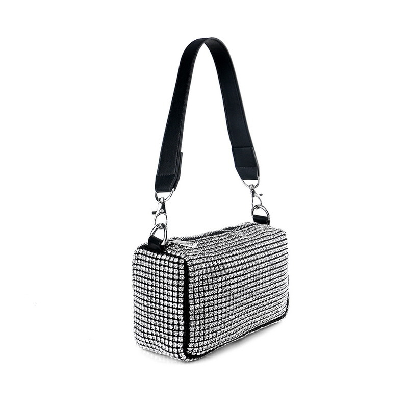 Bright Crystal/ Rhinestone Top Handle Bags