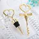 Non-Personalized Hearts Shape Alloy Bottle Stoppers