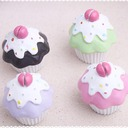 Cupcake Design Resin Place Card Holders (Set of 4 pieces)