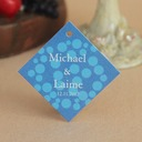 Personalized Simple Design Hard Card Paper (Set of 30)