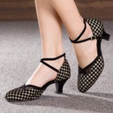 Women's Suede Ballroom Dance Shoes