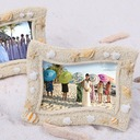 Seaside' Sand and Shell Place card Holder (Sold in a single piece)