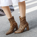 Suede Leatherette Chunky Heel Flats Wedges Slippers shoes