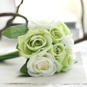 Classic Fabric Bridesmaid Bouquets/Decorations -
