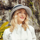 Ladies' Special/Exquisite Polyester/Silk With Bowknot Beach/Sun Hats/Kentucky Derby Hats