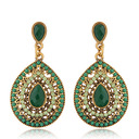 Gorgeous Alloy Rhinestones Ladies' Fashion Earrings