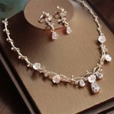 Beautiful Alloy/Rhinestones/Zircon Ladies' Jewelry Sets