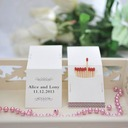 Personalized Classic Pattern Hard Card Paper Matchboxes (Set of 50)