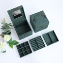Bride Gifts - Solid Color Velvet Jewelry Box