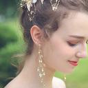 женские Сияющий сплав горный хрусталь серьги Ее/Друзья/невеста/невесты/Для нее