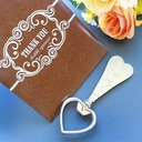 Key to My Heart Beer Bottle Opener in Thank You GiftBag(Sold in a single piece)