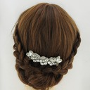 Ladies Pretty Satin Headbands With Crystal (Sold in single piece)