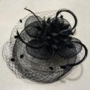 Elegante Filato netto Fascinators