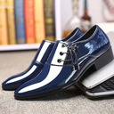 Men's Patent Leather Penny Loafer Casual Work Men's Oxfords
