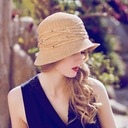 Ladies' Glamourous/Elegant Raffia Straw With Rhinestone Straw Hat