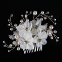 Ladies Beautiful Rhinestone/Alloy/Imitation Pearls/Silk Flower Combs & Barrettes