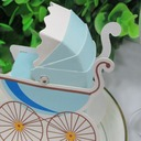 Carriage Favor Boxes (Set of 12)