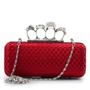 Fashionable Silk Clutches/Top Handle