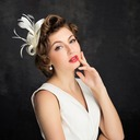 Ladies' Elegant Feather/Tulle With Feather Fascinators/Tea Party Hats