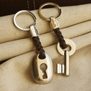 Lock and Key Zinc alloy Keychains (Set of 2 pieces)