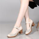 Women's Leatherette Heels Latin Modern Dance Shoes