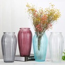 Creative European colored glass vase, living room home decoration