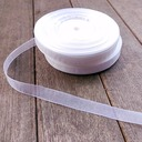 W 0.6 inch L 100yard Organza Ribbon DIY Party Gifts Packaging Material