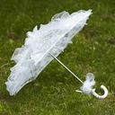 Graceful Lace Wedding Umbrellas