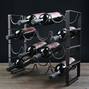Stainless Steel/Plating Bottle Holder / Wine Rack (Sold in one floor)