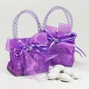 Handbag shaped Favor Bags With Ribbons (Set of 12)