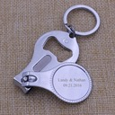 Personalized Roundness Bottle Openers (Set of 4)