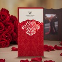 Personalized Classic Style/Modern Style Tri-Fold Invitation Cards (Set of 50)